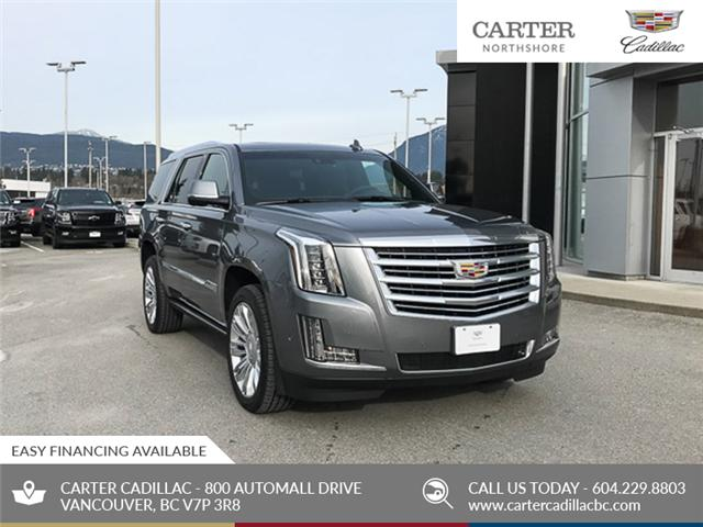 2019 Cadillac Escalade Platinum (Stk: 9D68280) in North Vancouver - Image 1 of 24