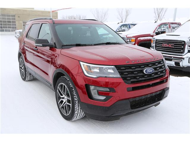 2017 Ford Explorer Sport (Stk: 172401) in Medicine Hat - Image 1 of 36