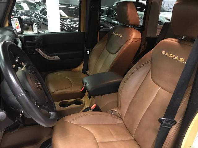 2013 Jeep Wrangler Unlimited Sahara (Stk: 628974) in Toronto - Image 8 of 12