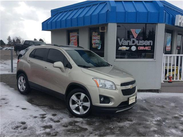 2013 Chevrolet Trax LTZ (Stk: 194382A) in Ajax - Image 1 of 25