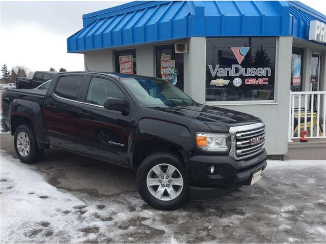 2016 GMC Canyon SLE (Stk: 194412A) in Ajax - Image 1 of 22