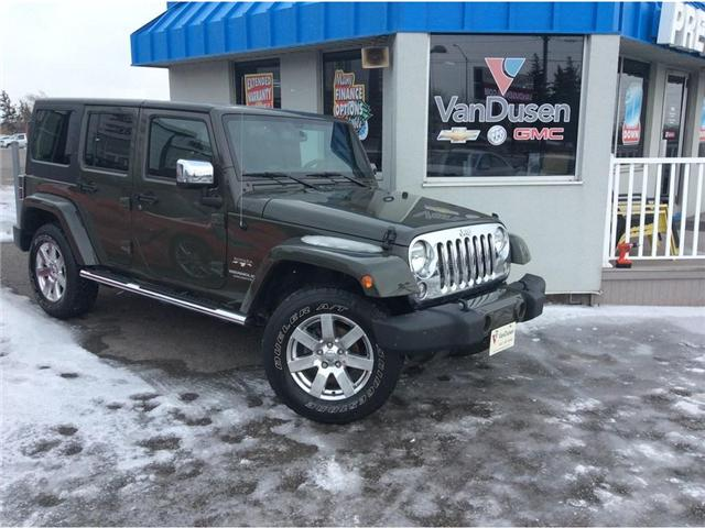 2016 Jeep Wrangler Unlimited Sahara (Stk: B7310) in Ajax - Image 1 of 23