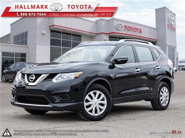 2015 Nissan Rogue S FWD CVT (Stk: HU4551) in Orangeville - Image 1 of 27