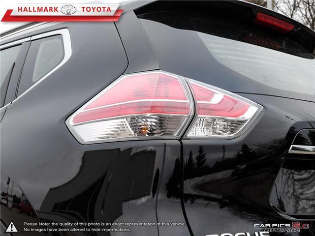 2015 Nissan Rogue S FWD CVT (Stk: HU4551) in Orangeville - Image 12 of 27