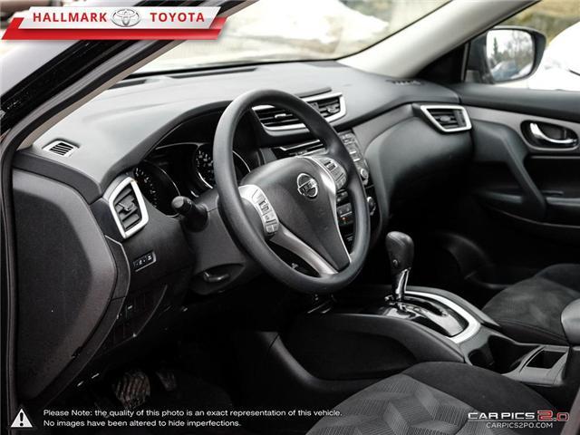 2015 Nissan Rogue S FWD CVT (Stk: HU4551) in Orangeville - Image 13 of 27