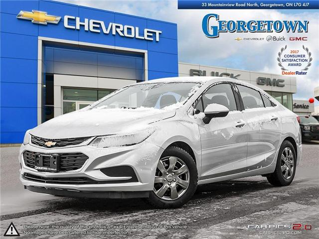 2016 Chevrolet Cruze LT Auto (Stk: 26243) in Georgetown - Image 1 of 26