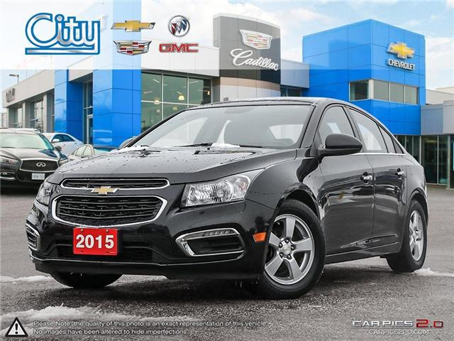 2015 Chevrolet Cruze  (Stk: R12170) in Toronto - Image 1 of 27