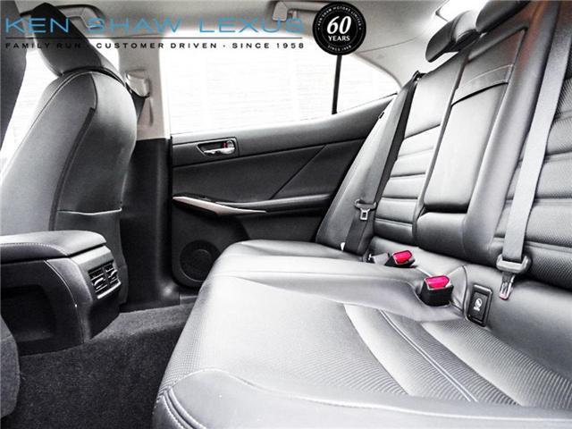 2016 Lexus IS 300 Base (Stk: 15853A) in Toronto - Image 10 of 20