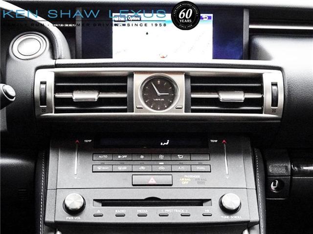 2016 Lexus IS 300 Base (Stk: 15853A) in Toronto - Image 15 of 20