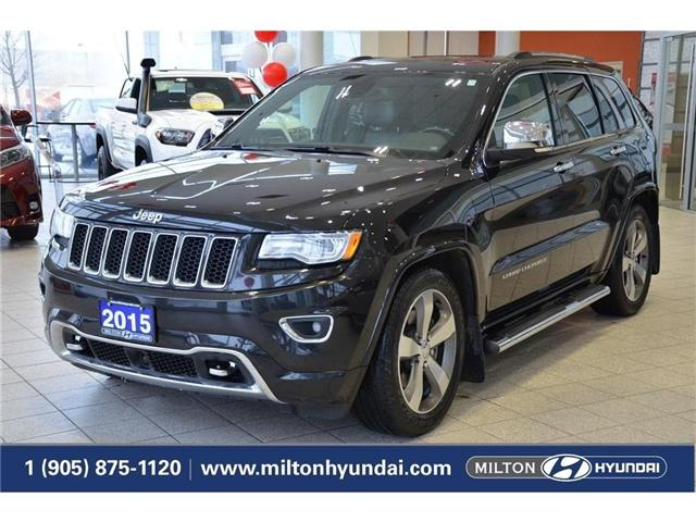 2015 Jeep Grand Cherokee Overland (Stk: 677464) in Milton - Image 1 of 45