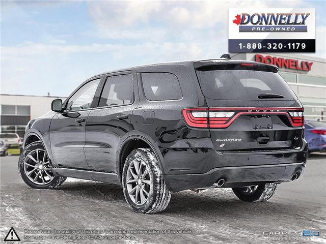 2018 Dodge Durango GT (Stk: CLKUR2226) in Kanata - Image 4 of 30