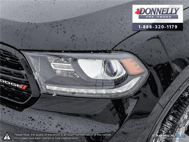 2018 Dodge Durango GT (Stk: CLKUR2226) in Kanata - Image 10 of 30