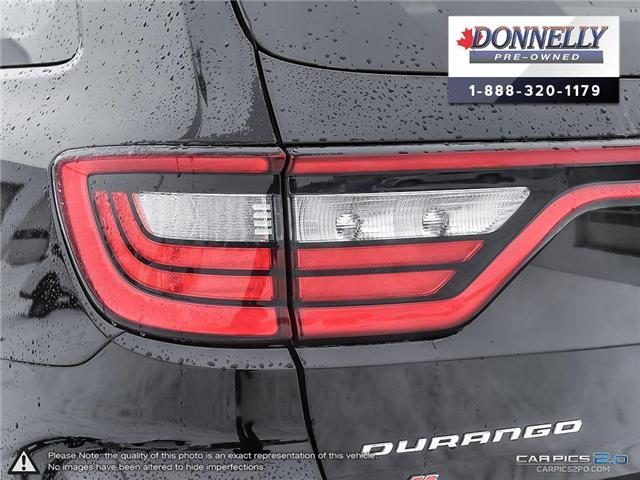 2018 Dodge Durango GT (Stk: CLKUR2226) in Kanata - Image 12 of 30