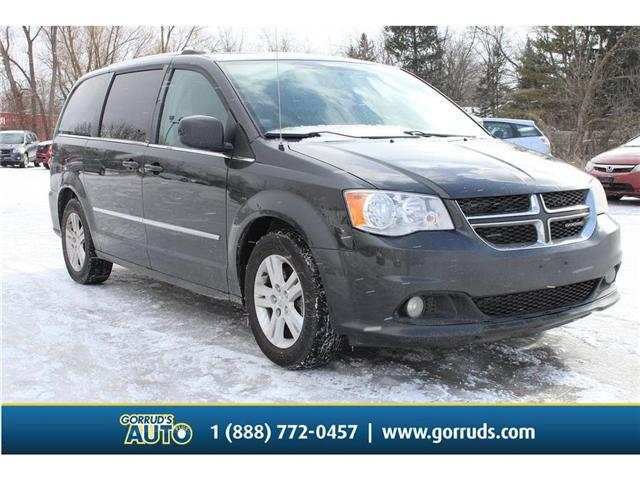 2012 Dodge Grand Caravan Crew (Stk: 248853) in Milton - Image 1 of 14