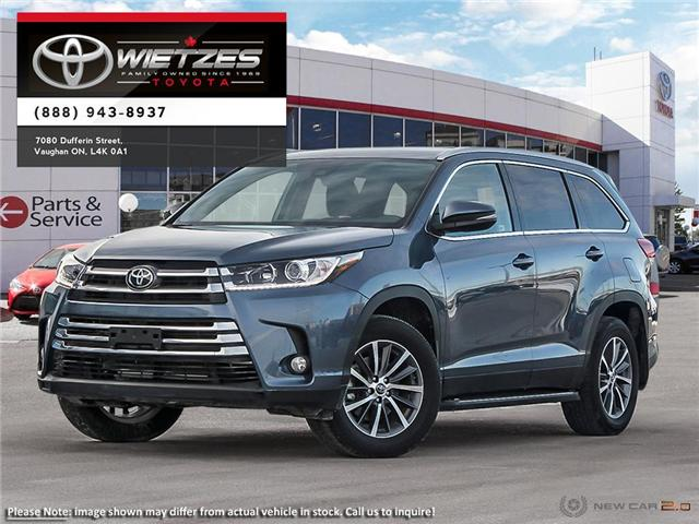 2019 Toyota Highlander XLE AWD (Stk: 68123) in Vaughan - Image 1 of 24