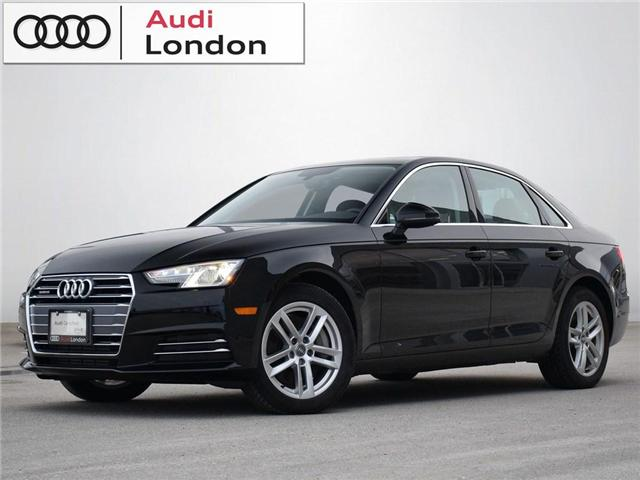 2017 Audi A4 2.0T Komfort (Stk: 417853) in London - Image 1 of 21