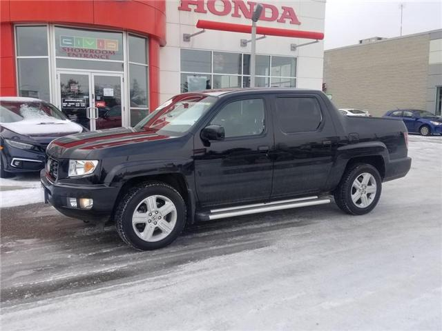 2012 Honda Ridgeline Touring (Stk: K1020A) in Georgetown - Image 1 of 8