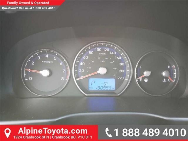 2010 Hyundai Santa Fe GL 3.5 (Stk: 5657717A) in Cranbrook - Image 17 of 19