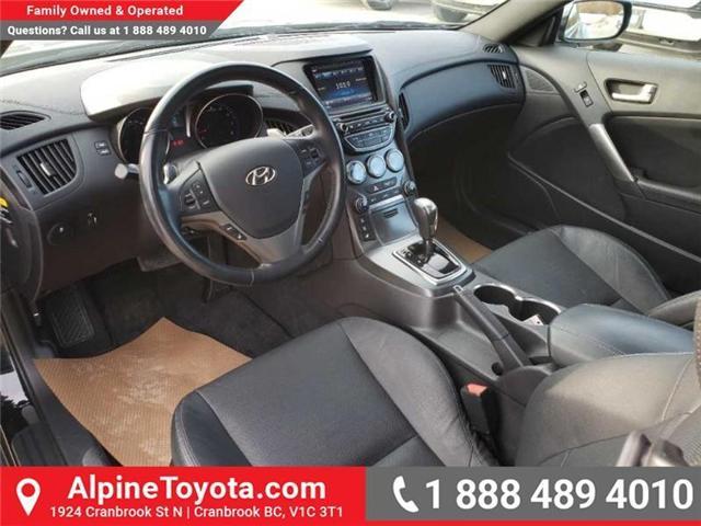 2016 Hyundai Genesis Coupe 3.8 GT (Stk: X078385N) in Cranbrook - Image 9 of 16