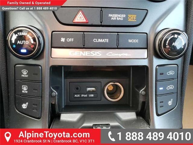 2016 Hyundai Genesis Coupe 3.8 GT (Stk: X078385N) in Cranbrook - Image 14 of 16