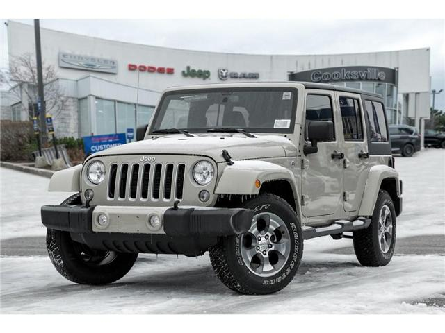 2018 Jeep Wrangler JK Unlimited Sahara (Stk: 7848PR) in Mississauga - Image 1 of 8