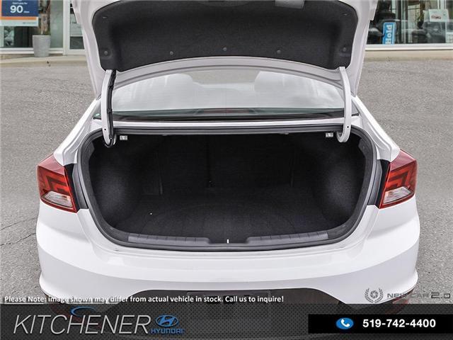 2019 Hyundai Elantra Preferred (Stk: 58670) in Kitchener - Image 7 of 23