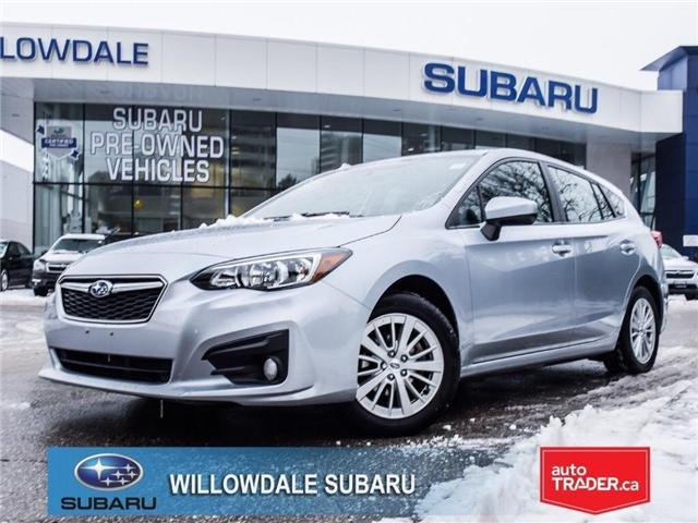 2018 Subaru Impreza Touring | HEATED SEATS | RIMS | BLUETOOTH (Stk: 18D76) in Toronto - Image 1 of 25