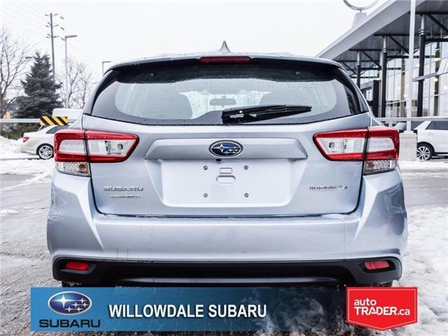 2018 Subaru Impreza Touring | HEATED SEATS | RIMS | BLUETOOTH (Stk: 18D76) in Toronto - Image 4 of 25