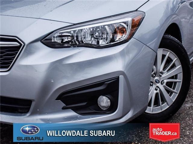 2018 Subaru Impreza Touring | HEATED SEATS | RIMS | BLUETOOTH (Stk: 18D76) in Toronto - Image 7 of 25