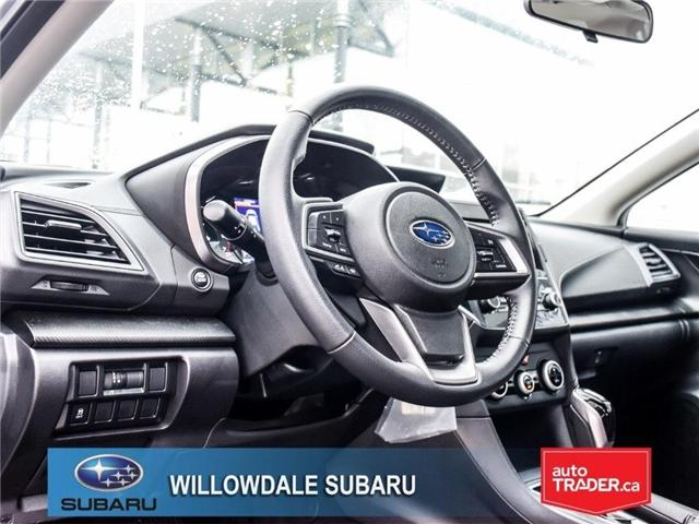 2018 Subaru Impreza Touring | HEATED SEATS | RIMS | BLUETOOTH (Stk: 18D76) in Toronto - Image 12 of 25
