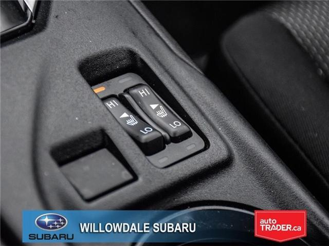2018 Subaru Impreza Touring | HEATED SEATS | RIMS | BLUETOOTH (Stk: 18D76) in Toronto - Image 21 of 25