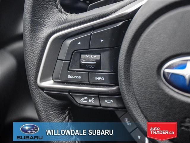 2018 Subaru Impreza Touring | HEATED SEATS | RIMS | BLUETOOTH (Stk: 18D76) in Toronto - Image 22 of 25