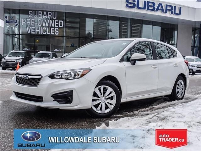 2017 Subaru Impreza Convenience | AWD | NO ACCIDENTS | APPLE PLAY (Stk: P2684) in Toronto - Image 1 of 25