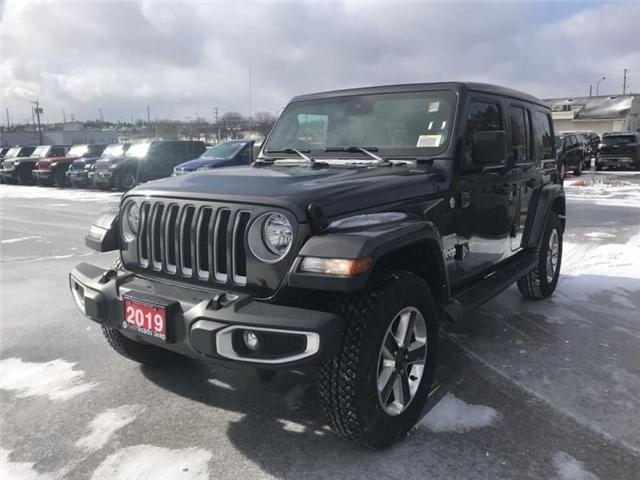 2019 Jeep Wrangler Unlimited Sahara (Stk: W18647) in Newmarket - Image 1 of 18
