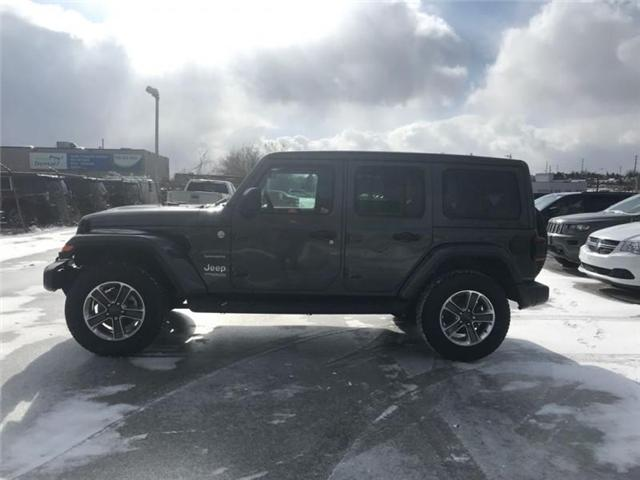 2019 Jeep Wrangler Unlimited Sahara (Stk: W18647) in Newmarket - Image 2 of 18