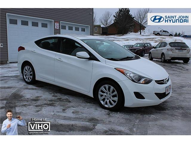 2013 Hyundai Elantra  (Stk: 87601A) in Saint John - Image 1 of 17