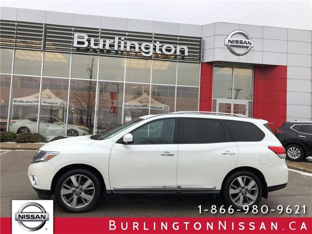 2016 Nissan Pathfinder Platinum (Stk: A6648) in Burlington - Image 1 of 21