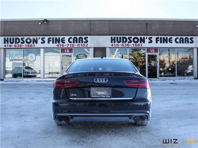 2016 Audi S6 4.0T (Stk: 47217) in Toronto - Image 6 of 30