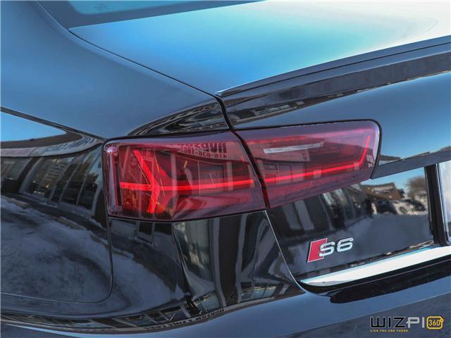 2016 Audi S6 4.0T (Stk: 47217) in Toronto - Image 10 of 30