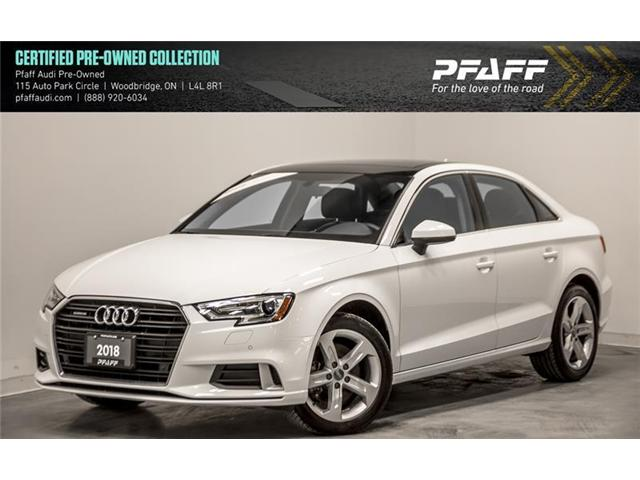 2018 Audi A3 2.0T Komfort (Stk: C6539) in Woodbridge - Image 1 of 19