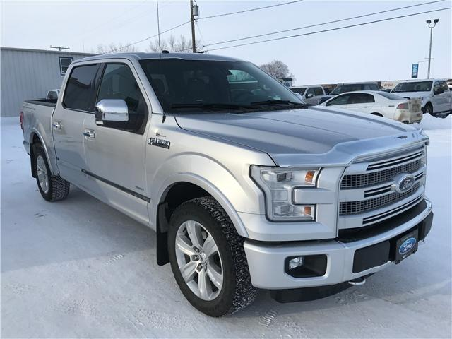 2016 Ford F-150 Platinum (Stk: 8220A) in Wilkie - Image 1 of 27
