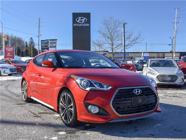 2016 Hyundai Veloster Turbo (Stk: P3249) in Ottawa - Image 1 of 11
