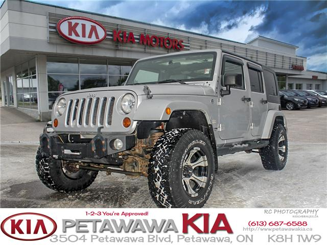 2008 Jeep Wrangler Unlimited Sahara (Stk: 19027-1) in Petawawa - Image 1 of 19