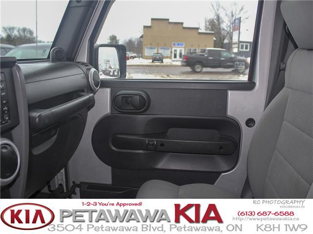 2008 Jeep Wrangler Unlimited Sahara (Stk: 19027-1) in Petawawa - Image 10 of 19