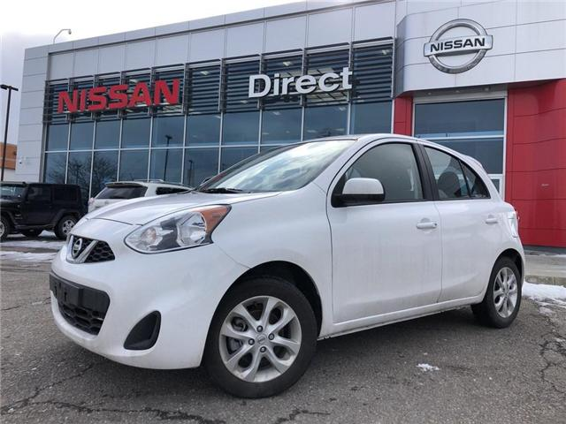 2018 Nissan Micra SV - DEMO CLEARANCE | BACKUP CAM - SOLD!!! (Stk: P0614) in Mississauga - Image 1 of 17