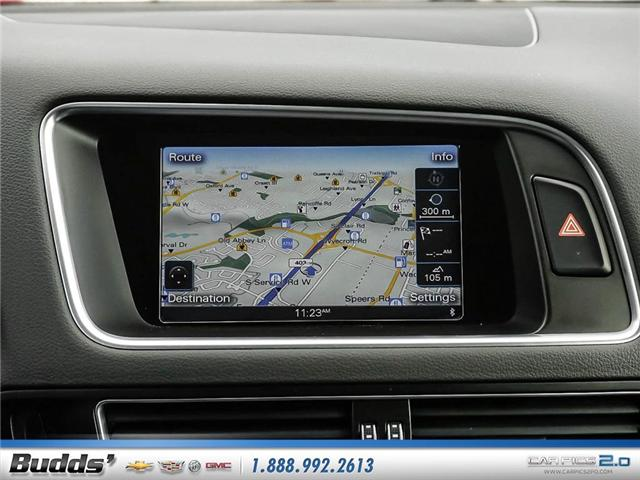 2015 Audi Q5 2.0T Progressiv (Stk: XT7115T) in Oakville - Image 16 of 25