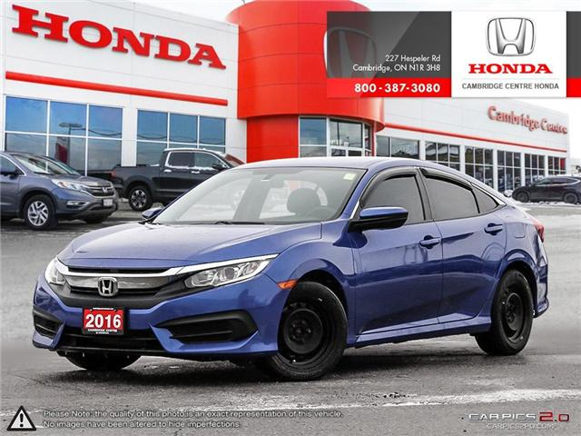 2016 Honda Civic LX (Stk: 19245A) in Cambridge - Image 1 of 27