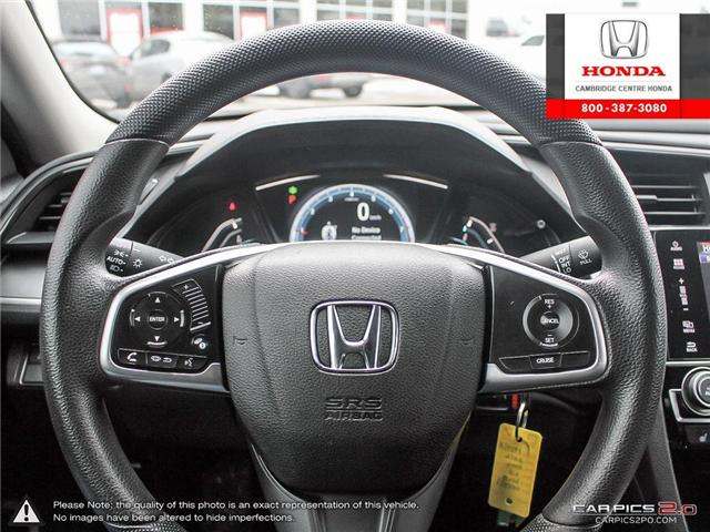2016 Honda Civic LX (Stk: 19245A) in Cambridge - Image 14 of 27