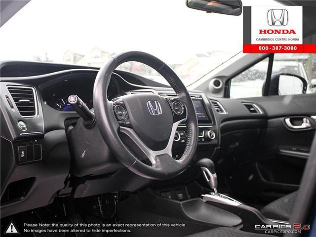 2015 Honda Civic EX (Stk: 19418A) in Cambridge - Image 13 of 27