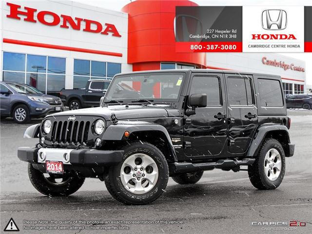 2014 Jeep Wrangler Unlimited Sahara (Stk: 19403A) in Cambridge - Image 1 of 27